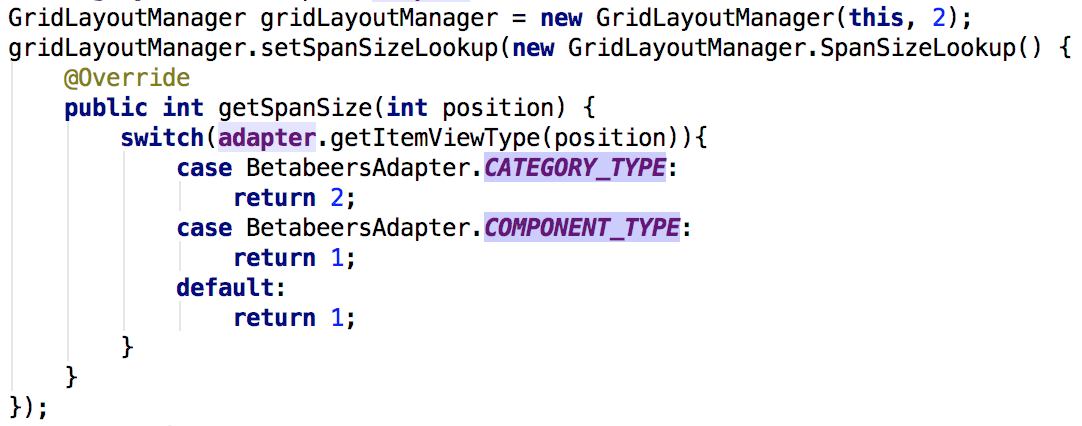 gridlayoutmanager
