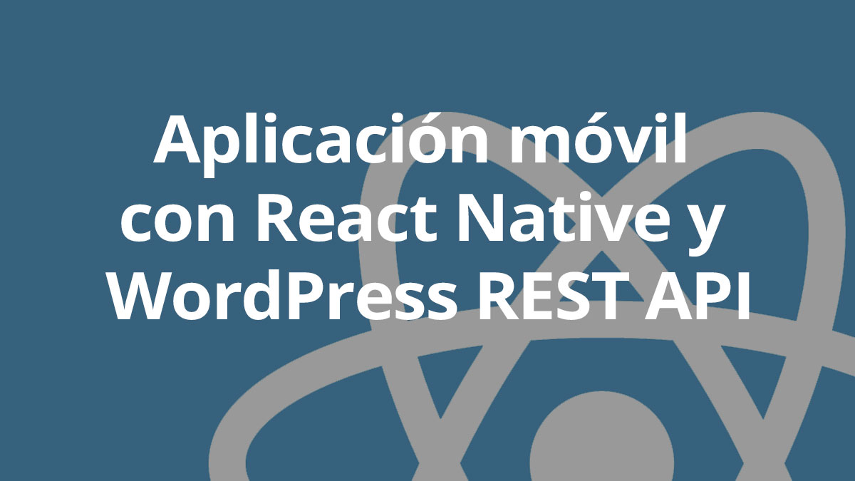 React Native WP API REST